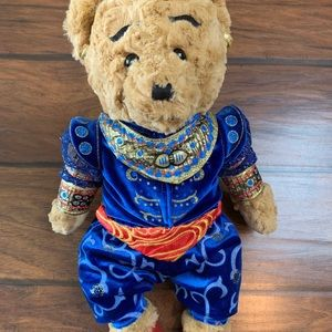 Disney Aladdin Musical Genie Teddy Bear Broadway